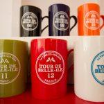 Les  6 mugs Tour de Belle-Ile